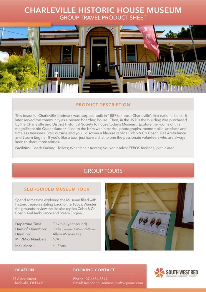 Charleville Historic House PDF preview