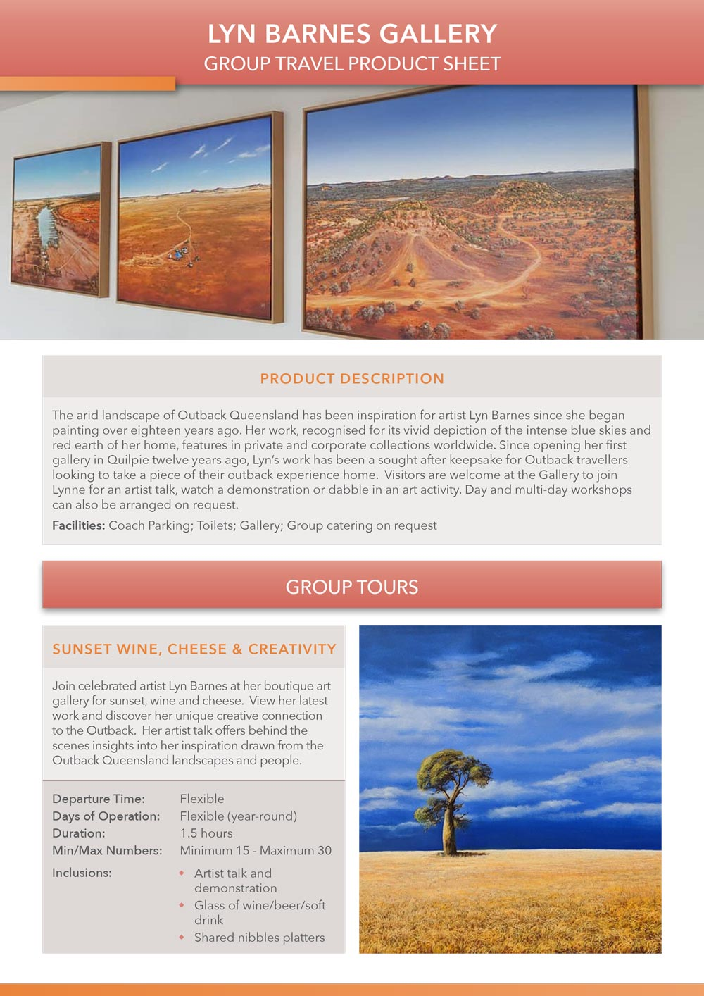 Lyn Barnes Gallery product sheet preview